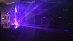 Discotheque lights. stock footage