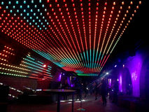 Discotheque Night Club. Light roof in a Discotheque night club Royalty Free Stock Photography