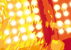 Discotheque (vector). Background drawing created to the computer (cmyk to rgb Royalty Free Stock Photo