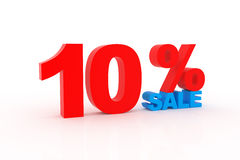 Discount 10% Royalty Free Stock Photography