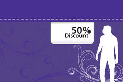 Discount  background Royalty Free Stock Images