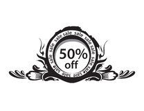 Discount banner Royalty Free Stock Images