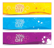 Discount banner308 Stock Photos