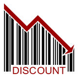 Discount BARCODE home Royalty Free Stock Photography