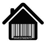 Discount BARCODE home vector Stock Images