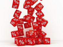 Discount boxes Stock Images