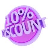 Discount button Stock Photo