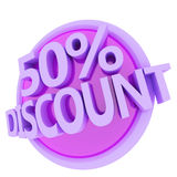 Discount Button Stock Photos