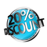 Discount button Stock Images