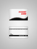 Discount card. This is design card for business Stock Photo
