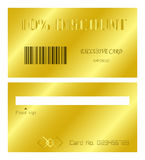 Discount card Royalty Free Stock Images