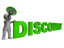 Discount Character Shows Sale Offer And Discounts Stock Images