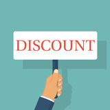 Discount concept. vector Royalty Free Stock Photography