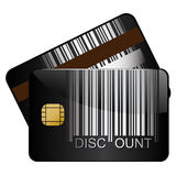 Discount credit card Stock Photo