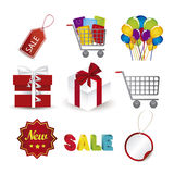 Discount Icons Stock Photos