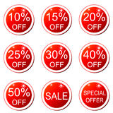 Discount label (vector) Royalty Free Stock Photo