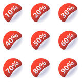 Discount Labels Stock Images