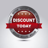 Discount labels vector illustration