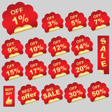 Discount Labels Stock Photos