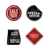 Discount and offer design. Discount concept with special offer icon design, vector illustration 10 eps graphic Stock Photography