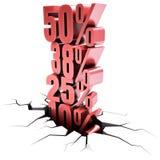 Discount Over Discount Stock Photos