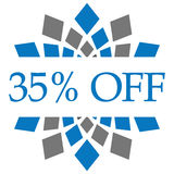 Discount 35 Percent Off Royalty Free Stock Photos