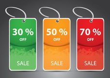 Discount Price Cards, Tags, Labels Stock Images
