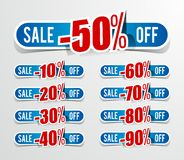 Discount prices Royalty Free Stock Photo