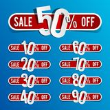 Discount prices Stock Photo