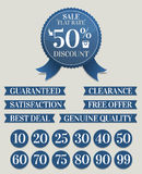 Discount Ribbon Stock Images