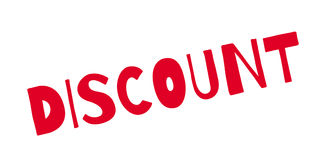 Discount rubber stamp Stock Photo