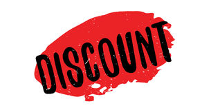 Discount rubber stamp Stock Images