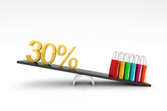 Discount sale Royalty Free Stock Photos