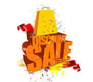 Discount Sale Stock Image