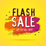 Discount sale banners template stock illustration