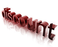 Discount sales Stock Images