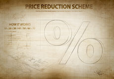 Discount scheme Stock Photos