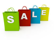 Discount Shopping  Stock Images