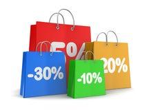 Discount shopping Stock Photo