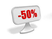 Discount sign Royalty Free Stock Photography