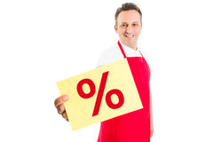 Discount sign or symbol Stock Photography