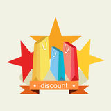 Discount special offer. Shopping concept. Royalty Free Stock Photos