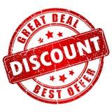 Discount stamp Stock Photos
