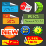 Discount Stickers Stock Images