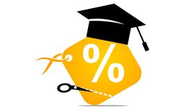 Discount for Student Royalty Free Stock Images