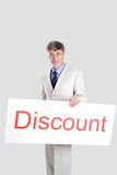Discount table Royalty Free Stock Photography