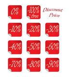 Discount Tag Percent Royalty Free Stock Photography