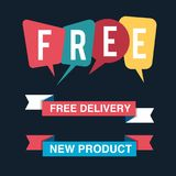 Discount tag with special offer sale sticker. EPS 10 and JPEG files Royalty Free Stock Images