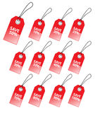 Discount tags. Royalty Free Stock Photos