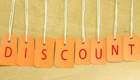 Discount tags Stock Photography